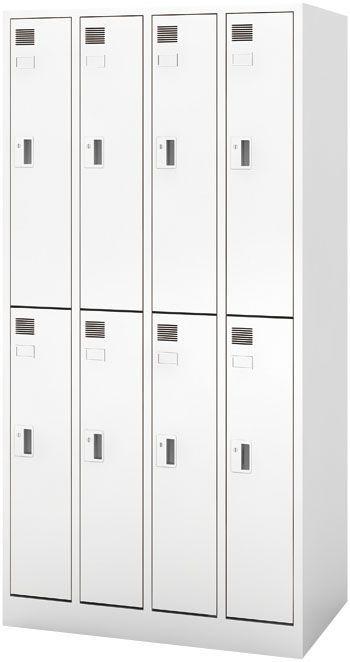【メーカー在庫あり】 エスコ ESCO 900x515x1790mm4列2段 システムロッカー 000012261024 HD店