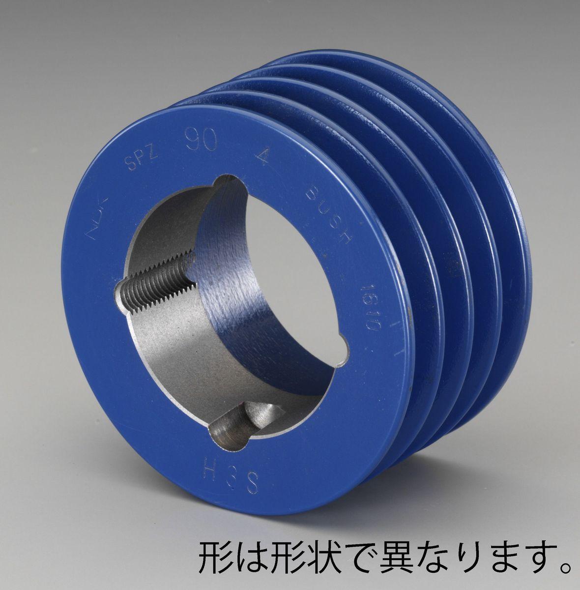エスコ ESCO 230mm 4本構 Vプーリー SPプーリー/41U 000012266159 HD店