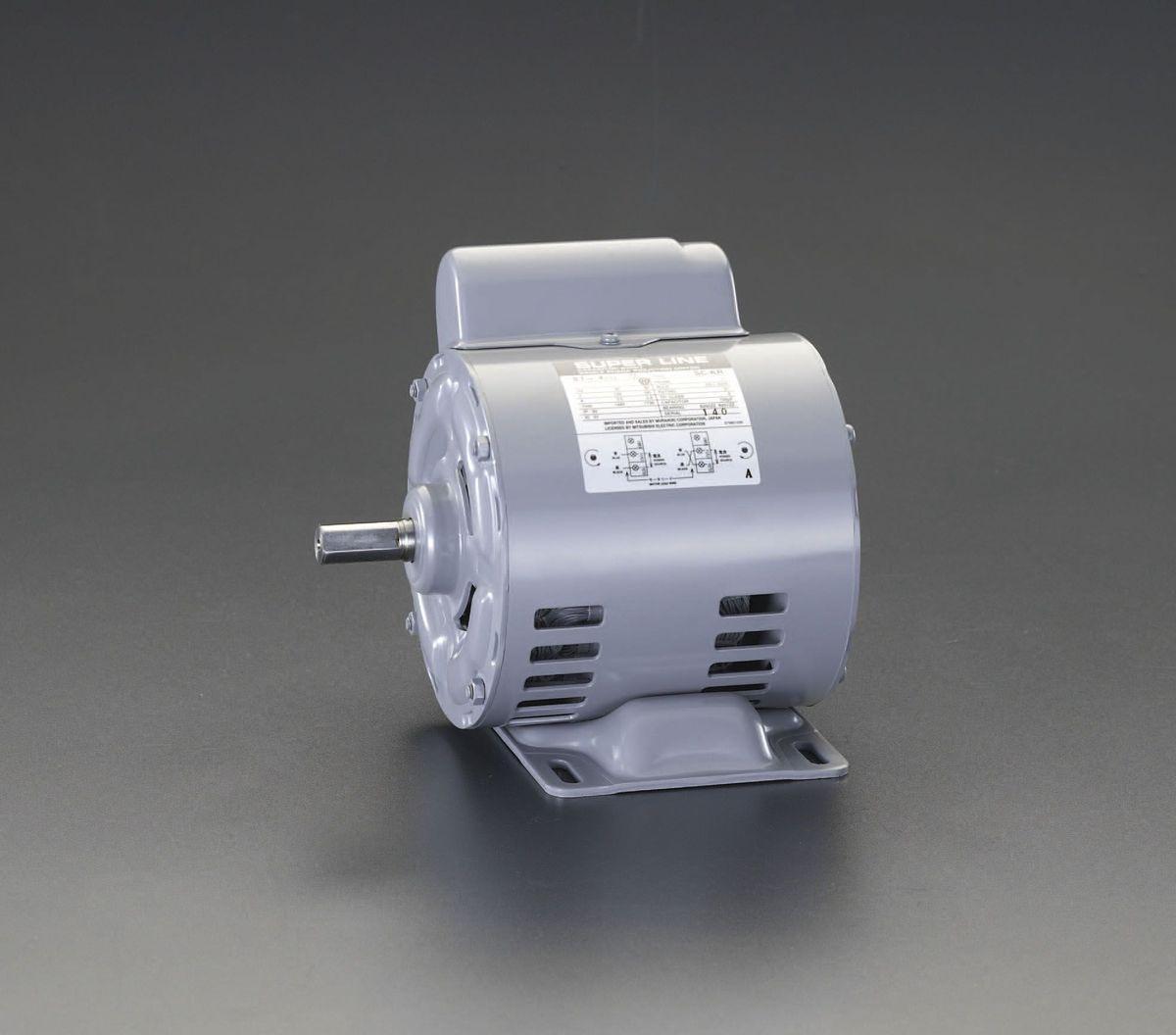 【メーカー在庫あり】 エスコ ESCO AC100V・300W 単相モーター コンデンサ始動式 000012232687 HD店