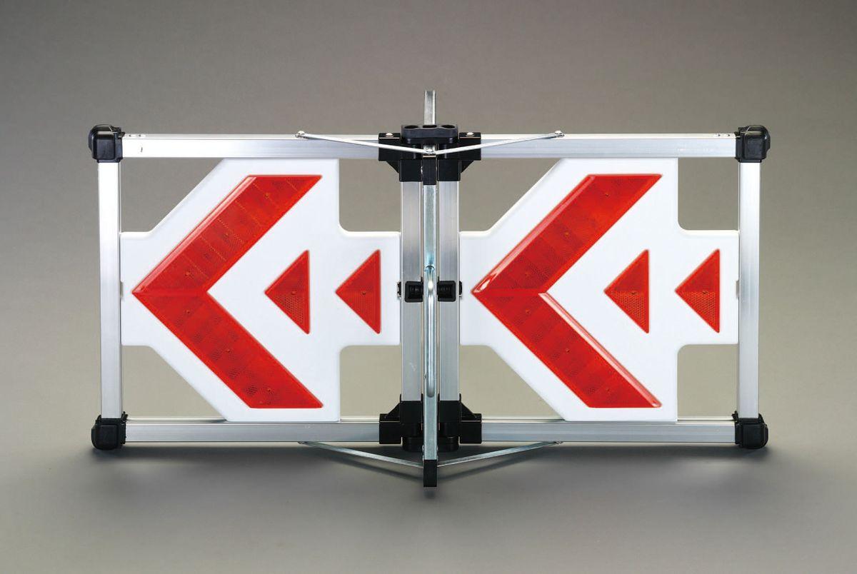 【メーカー在庫あり】 エスコ ESCO 406x833mm LED方向指示灯 000012232885 HD店