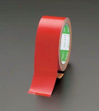 【メーカー在庫あり】 エスコ ESCO 100mmx10m 粗面用反射テープ 赤 000012025148 HD店