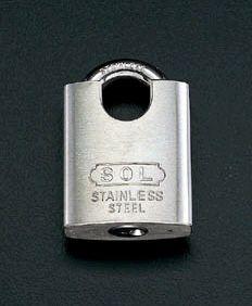 【メーカー在庫あり】 エスコ ESCO 50mm パーフェクトロック ステンレス製 000012055927 HD店