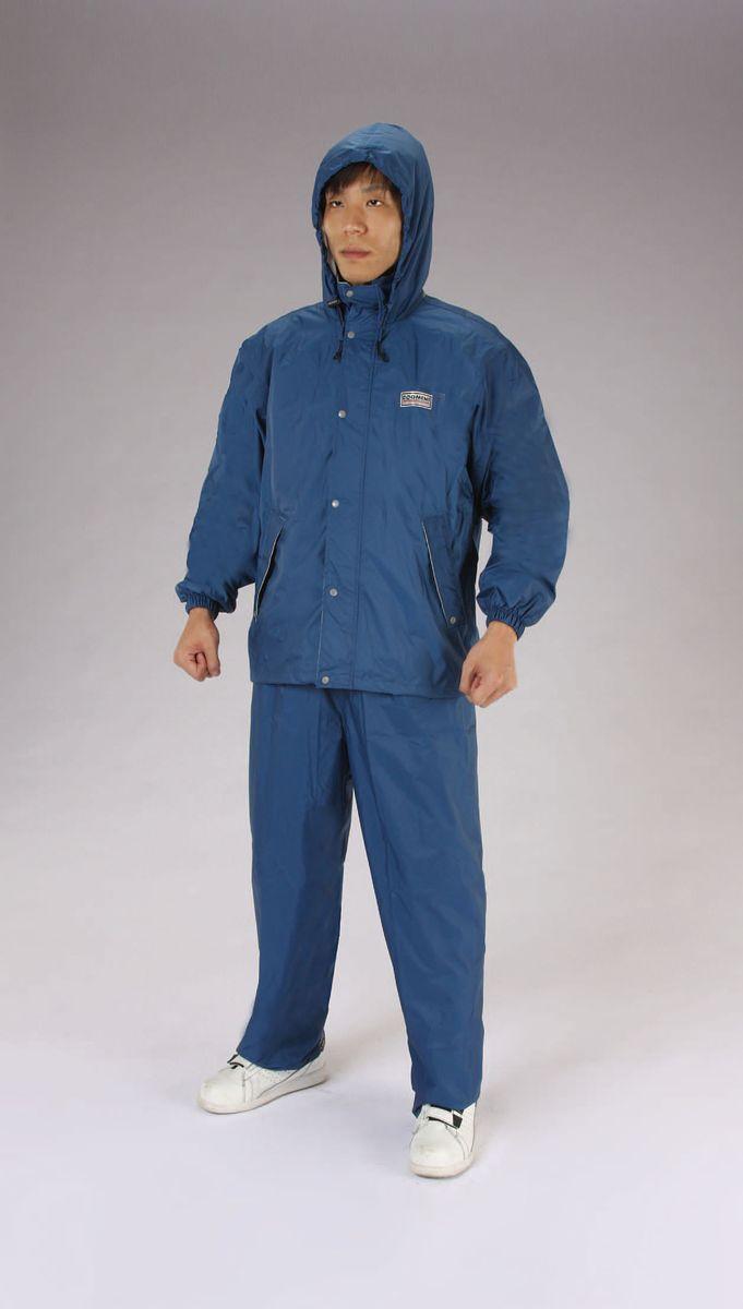【メーカー在庫あり】 エスコ ESCO LL レインウェアー 透湿型/紺色 000012235113 HD店