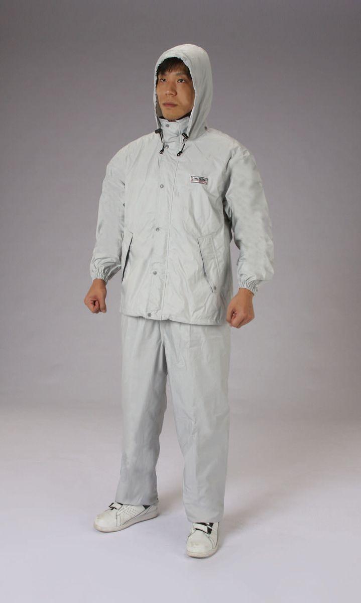 【メーカー在庫あり】 エスコ ESCO 3L レインウェアー 透湿型/灰色 000012235119 HD店
