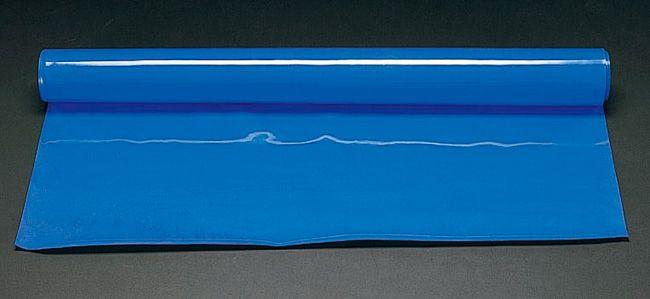 エスコ ESCO 1.0x5.0m/2.0mm ゴムシート ブルー 000012028602 HD店