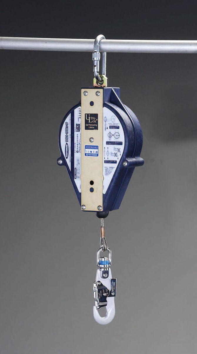 【メーカー在庫あり】 エスコ ESCO φ4.3mmx12m 安全ブロック ステンレス製ワイヤー付 000012204301 HD店