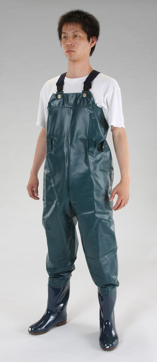 【メーカー在庫あり】 エスコ ESCO 26.0cm 耐油水中長靴 グリーン 000012094800 JP店
