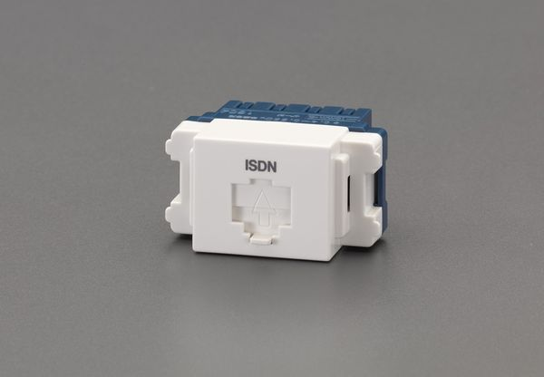 メーカー在庫あり 完売 エスコ ESCO モジュラジャック ISDN用 EA940CD-426 激安価格と即納で通信販売 HD店