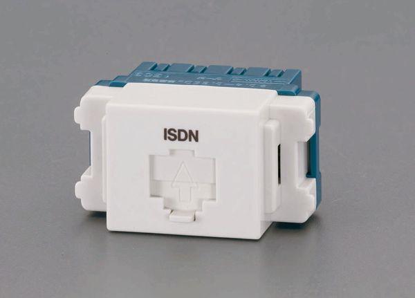 卓抜 メーカー在庫あり エスコ WEB限定 ESCO モジュラージャック ISDN用 HD店 EA940CE-173