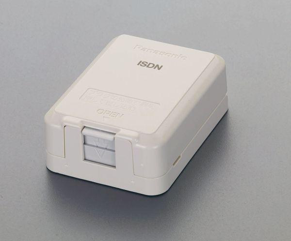 大好評です メーカー在庫あり ギフ_包装 エスコ ESCO モジュラージャック HD店 ISDN用 EA940CE-175