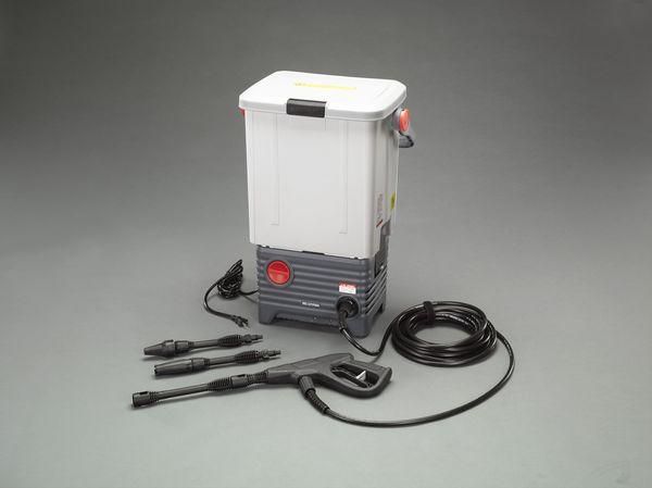 EA115TA-6 エスコ ESCO AC100V/1.0kW タンク付高圧洗浄機