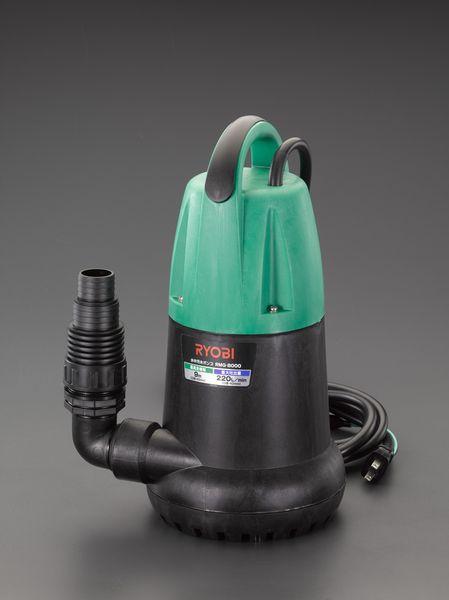 【メーカー在庫あり】 EA345CC-60 エスコ ESCO AC100V(60Hz)/50mm 水中ポンプ(汚水用)