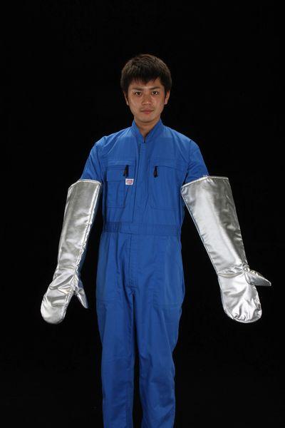 【メーカー在庫あり】 EA353AB-41 エスコ ESCO [フリー]600mm 手袋(遮熱・ノーメックス繊維)