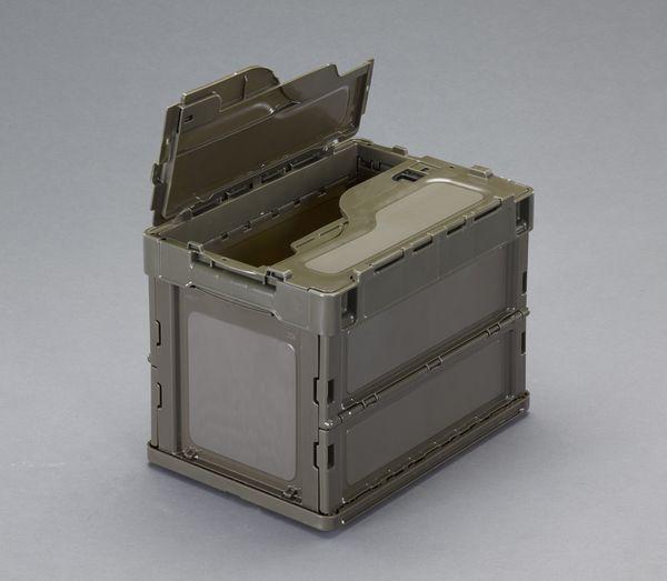 【メーカー在庫あり】 EA506AA-30E エスコ ESCO 366x264x283mm/20.0L 折畳コンテナ(OD/蓋付5個)