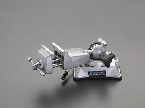 【メーカー在庫あり】 EA525ML-102 エスコ ESCO 64mm ロープロファイルバイス(バキュームベース)