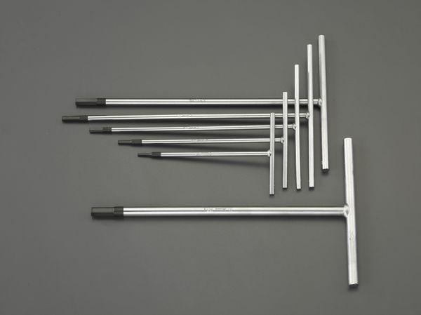 【メーカー在庫あり】 EA573BW エスコ ESCO 3.0-10mm /6本組 [Hexagon]T型レンチ