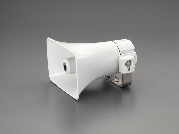 【メーカー在庫あり】 EA763CS-7A エスコ ESCO 15W 防滴型スピーカー