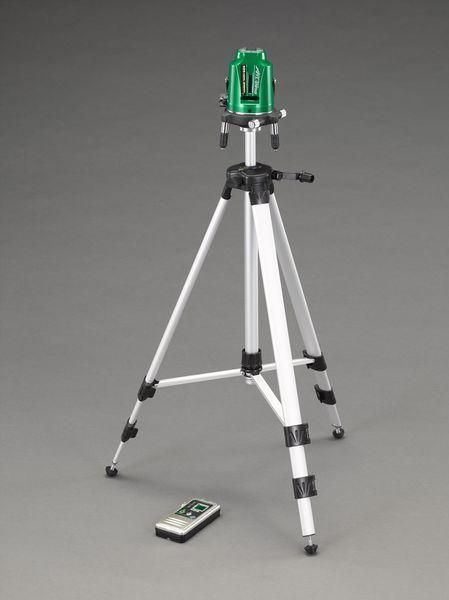 【メーカー在庫あり】 EA780K-3SA エスコ ESCO レーザー墨出し器(グリーンレーザー/三脚・受光器)