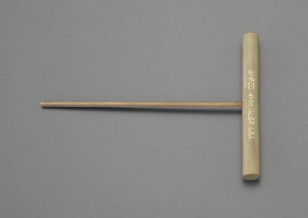 【メーカー在庫あり】 EA642LV-3 エスコ ESCO 3.0mm 六角棒レンチ/T型(ノンスパーキング)