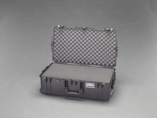 【メーカー在庫あり】 EA657-361 エスコ ESCO 752x394x238mm/内寸万能防水ケース(軽量型/黒)