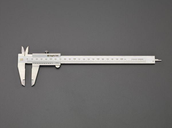 【メーカー在庫あり】 EA725C-200A エスコ ESCO 200mm ノギス
