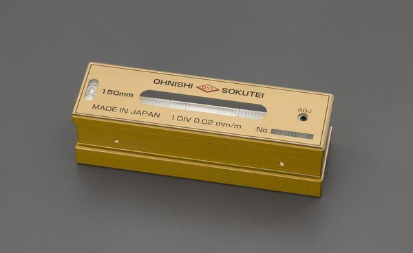 【メーカー在庫あり】 EA735MP-15 エスコ ESCO 150mm(0.02mm/m) 精密レベル