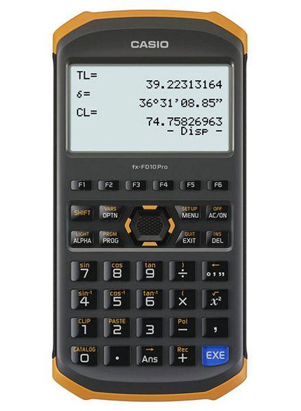 EA761GD-31 エスコ ESCO 土木測量専業電卓