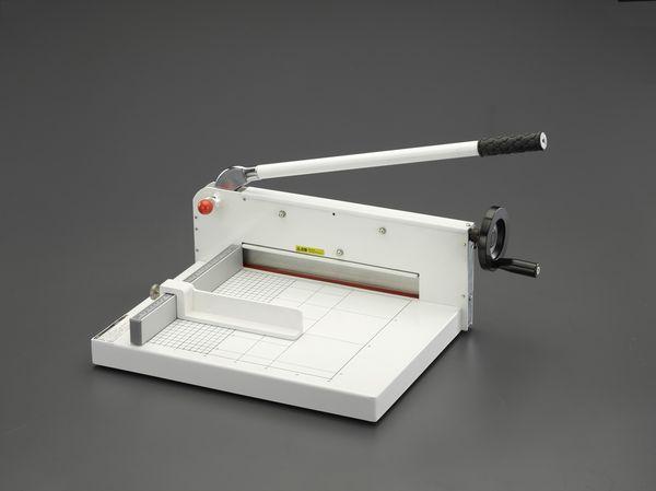 【メーカー在庫あり】 EA762EB-61 エスコ ESCO 360x480mm(310mm幅/400枚)裁断機