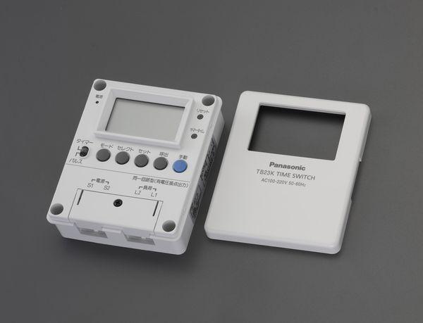 EA763A-28 エスコ ESCO AC100V タイムスイッチ (週間)