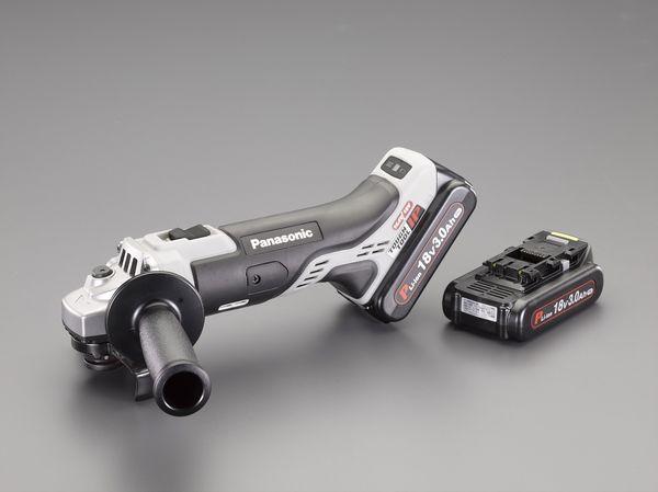 【メーカー在庫あり】 EA809PA-11 エスコ ESCO 100mm/ 18V ディスクグラインダー(充電式)