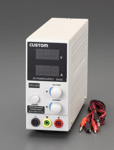 【メーカー在庫あり】 EA812-14 エスコ ESCO AC100V→ 0-30V/5.0A 直流安定化電源