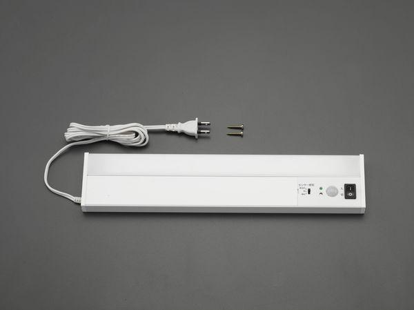 【メーカー在庫あり】 EA815LL-11 エスコ ESCO AC100V/4W/300ルーメン LED照明灯 (人感センサ-付)