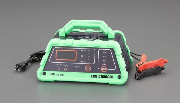 【メーカー在庫あり】 EA815YA-36 エスコ ESCO AC100V 自動充電器(アイドリングストップ車対応)