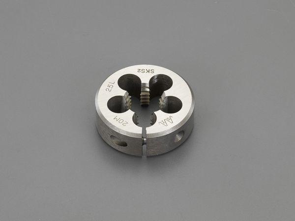 【メーカー在庫あり】 EA829MW-222B エスコ ESCO M22x2.5 /50mm ダイス(左ねじ用/SKS2)