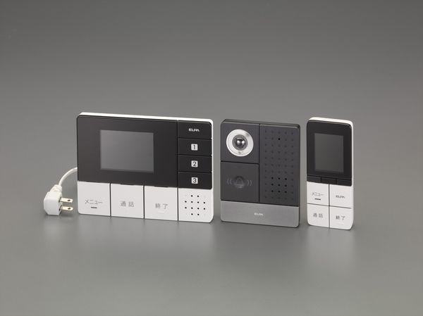 【メーカー在庫あり】 EA864BB-50 エスコ ESCO ワイヤレステレビドアホン