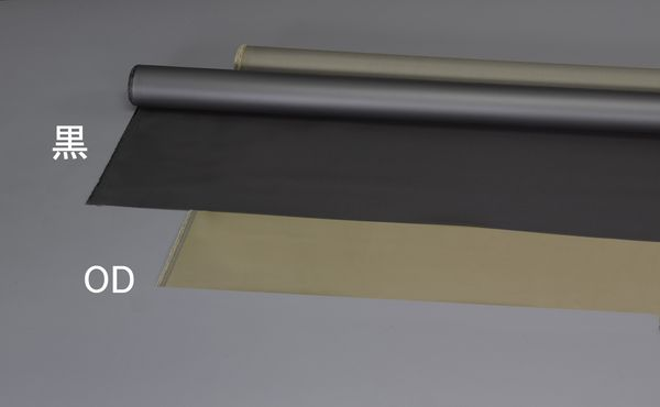 【メーカー在庫あり】 EA911AS-112 エスコ ESCO 1.1x 10m/0.6mm ナイロンシート(裏面PVCコート/OD)