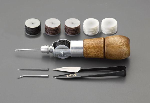 【メーカー在庫あり】 EA916J-30 エスコ ESCO 縫針セット(皮革用)