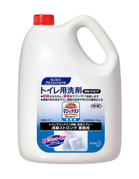 【メーカー在庫あり】 EA922KD-12A エスコ ESCO 4.5L トイレ洗剤(マジックリン消臭ストロング/4個)