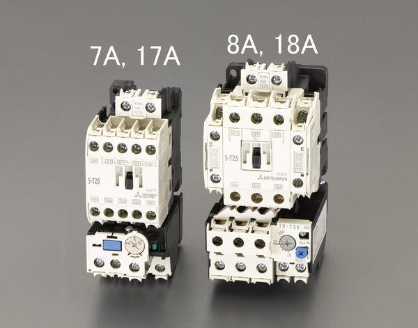 【メーカー在庫あり】 EA940MV-8A エスコ ESCO 100V/200V・5.5kW 電磁開閉器(非可逆)