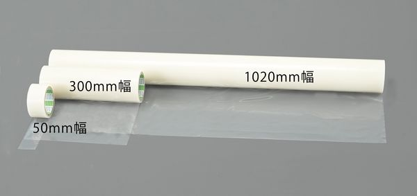 【メーカー在庫あり】 エスコ ESCO 500mmx100m 表面保護シート(透明) EA944MR-65 HD店