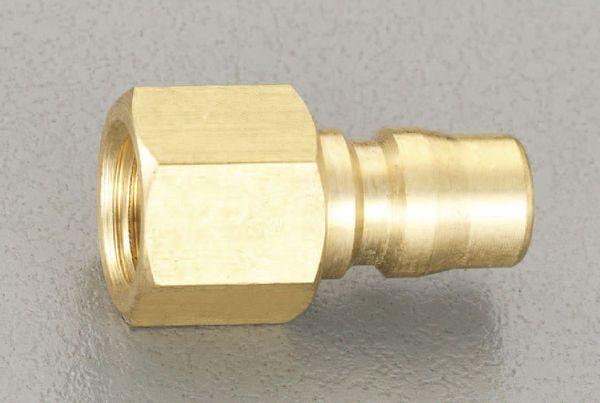 【メーカー在庫あり】 エスコ ESCO RC 2インチ 雌ねじプラグ(中圧用/真鍮製) EA140AC-16 HD店
