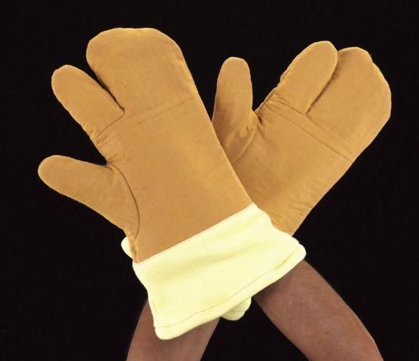 【メーカー在庫あり】 エスコ ESCO フリー 330mm 手袋・高耐熱(アラミド繊維) EA354KJ-7 HD店