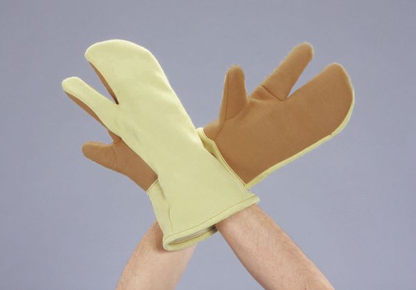 【メーカー在庫あり】 エスコ ESCO フリー 320mm 手袋・耐熱(アラミド・コットン) EA354KJ-8 HD店