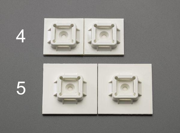 【メーカー在庫あり】 エスコ ESCO 38.1x38.1mm結束バンド用ベース(粘着付/50個) EA475GB-4 HD店