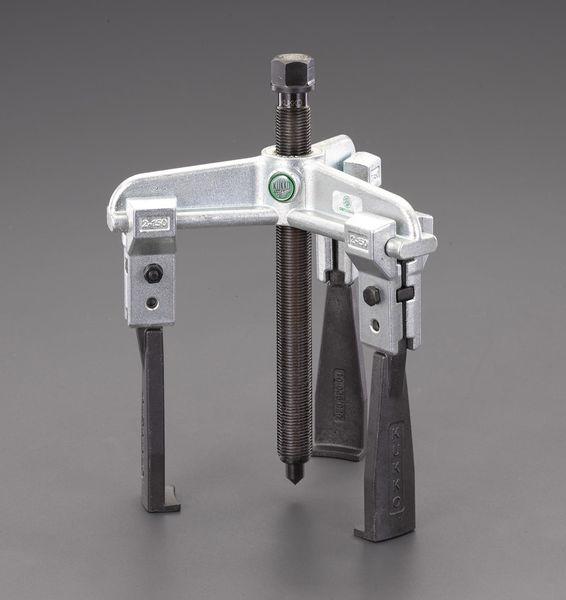 【メーカー在庫あり】 エスコ ESCO 120mm スライドアームプーラー(3本爪/薄爪) EA500CG-120 HD店