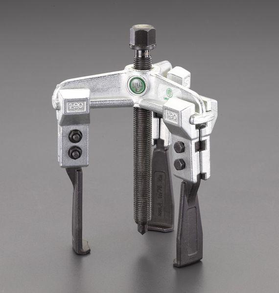 エスコ ESCO 90mm スライドアームプーラー(3本爪/超薄爪) EA500CH-90 HD店