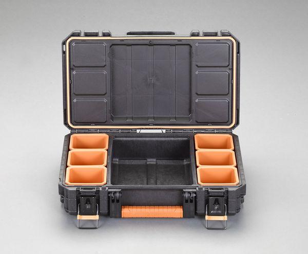 【メーカー在庫あり】 エスコ ESCO 350x564x165mm ツールボックス EA505TR-2 HD店
