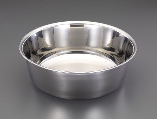 【メーカー在庫あり】 エスコ ESCO φ600x200mm 洗桶(ステンレス製) EA508SC-323 HD店