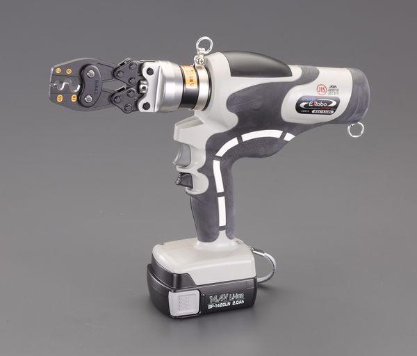 【メーカー在庫あり】 エスコ ESCO 2.0-14.0m 充電式油圧圧着工具(裸端子用) EA539PD-10 HD店