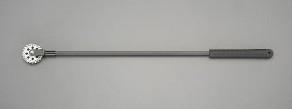 【メーカー在庫あり】 エスコ ESCO 695mm 打診棒(レンコン玉) EA575-61 HD店